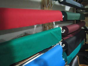 Pool table refelting cloth choices in Westerville