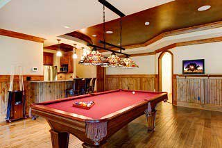 Pool Table Room Sizes in Westerville