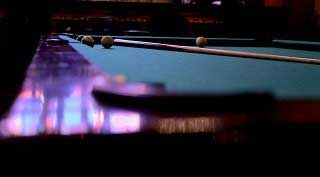 Professional pool table setup in Westerville